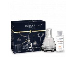 Maison Berger katalytická lampa GEM set kouřová a interiérový parfém Intenzivní třpyt 180 ml