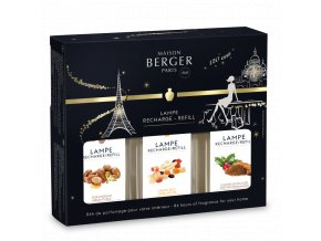 Maison Berger interiérový parfém sezonní TRIOPACK 3 x 180 ml