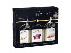 Maison Berger interiérový parfém slavnostní TRIOPACK 3 x 180 ml