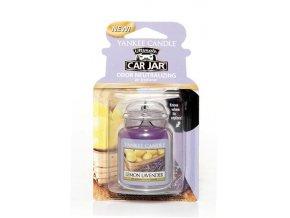 Yankee Candle gelová visačka vůně do auta Lemon Lavender