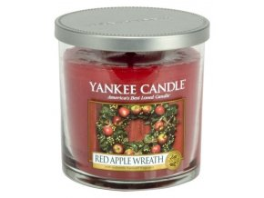 Svíčka Décor malý Red Apple Wreath Yankee Candle