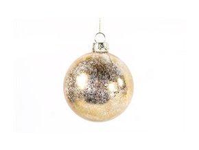 Vánoční ozdoba OLTON S zlatá 8 cm Decostar