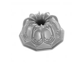 Forma na bábovku CATHEDRAL 9 cup stříbrná Nordic Ware