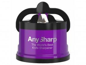 Brousek na nože Any Sharp Pro metalický fialový