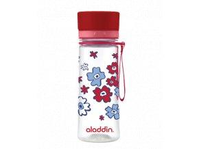 ALADDIN AVEO láhev na vodu 350 ml červená s potiskem