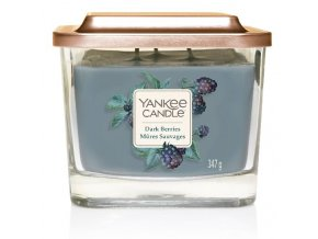 Yankee Candle vonná svíčka ELEVATION Dark Berries sklo střední