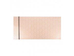 Dárková obálka přání 23 x 11 cm vzorované Artebene
