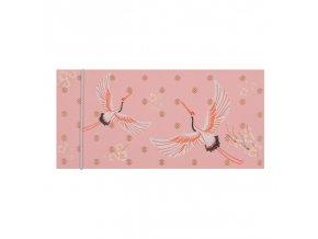 Dárková obálka přání 23 x 11 cm Flamingo Artebene
