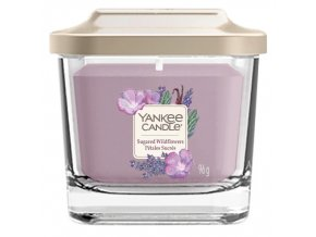 Yankee Candle vonná svíčka ELEVATION Sugared Wildflowers malá