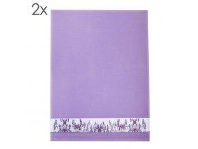 Utěrka Lavender Field, set 2 ks 50 x 70 cm Framsohn