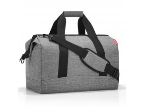 Cestovní taška ALLROUNDER L twist silver Reisenthel