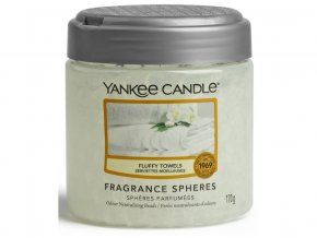 Vonné perly SPHERES FLUFFY TOWELS Yankee Candle