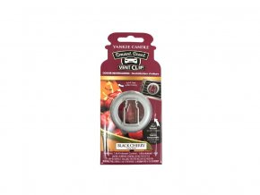 Yankee Candle vonný clip do auto ventilace vůně BLACK CHERRY