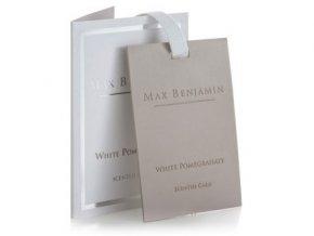 Vonná karta Classic White Pomegranate MAX BENJAMIN