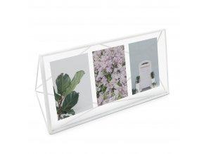 Fotorámeček PRISMA bílý 48 x 23 cm Umbra
