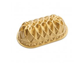 Forma na biskupský chlebíček JUBILEE 6 cup zlatá Nordic Ware