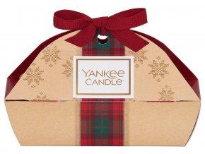 Yankee Candle dárková sada vánoční 3ks votivní svíčka