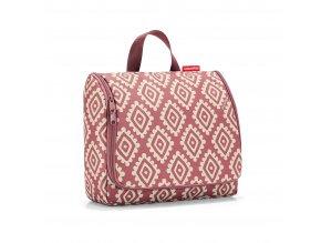 Kosmetická taška TOILETBAG XL 28 x 25 cm diamonds rouge Reisenthel