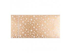 Dárková obálka přání 23 x 11 cm vánoční hvězdy Artebene