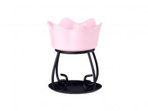 Aromalampa PETAL BOWL růžová Yankee Candle