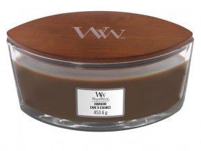 WoodWick vonná svíčka loď HUMIDOR 453 g