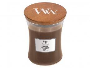 WoodWick vonná svíčka sklo střední HUMIDOR 275 g