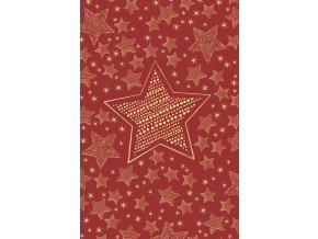 Vánoční přání s obálkou hvězdy Artebene