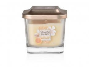 Yankee Candle vonná svíčka ELEVATION Rice Milk & Honey, malá