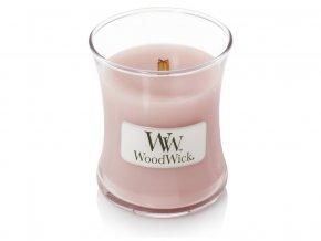 WoodWick vonná svíčka sklo malé ROSEWOOD 85 g