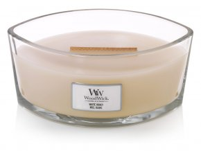 WoodWick vonná svíčka loď WHITE HONEY 453 g
