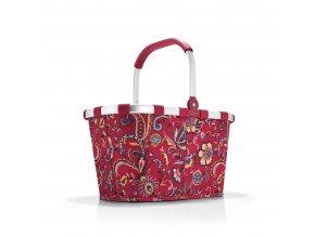 Nákupní košík CARRYBAG paisley ruby Reisenthel
