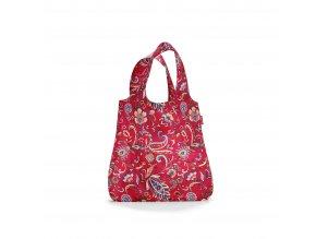 Skládací taška mini maxi SHOPPER paisley ruby Reisenthel