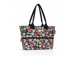 Chytrá taška přes rameno SHOPPER e1 happy flowers Reisenthel