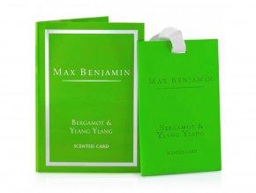 Vonná karta Classic Bergamot & Ylang Ylang MAX BENJAMIN