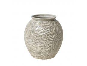 Váza SANDY béžová, v. 31 cm Broste