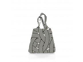 Skládací taška mini maxi SHOPPER zebra, Reisenthel