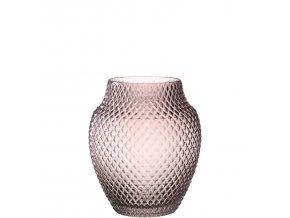 Váza POESIA 23 cm, růžová Leonardo