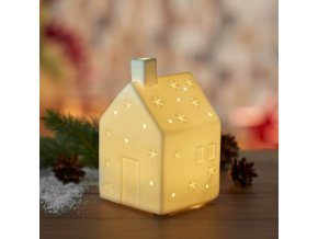 Porcelánový domeček s LED osvětlením, Leonardo 2