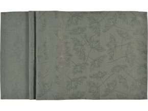 Středový pás LARA 50 x 140 cm, zelený SANDER