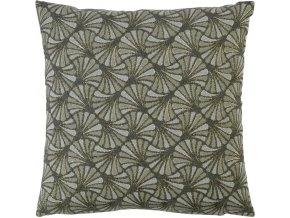 Povlak na polštář WINTER GLAM 50 x 50 cm, zelený SANDER
