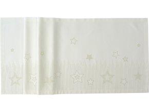 Středový pás STARLINE 50 x 150 cm, krémový SANDER