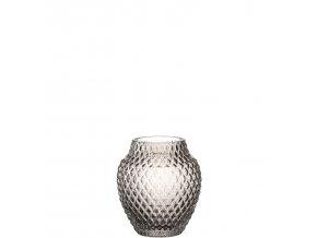 Váza POESIA 11 cm, šedá Leonardo