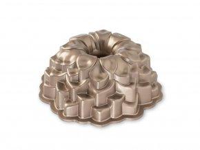 Forma na bábovku BLOSSOM 10 cup, karamelová Nordic Ware