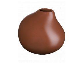Váza PECAN v. 28 cm, hnědá ASA Selection