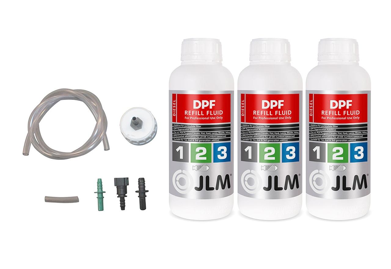 Diesel DPF Refill Fluid - náplň pre DPF filtre ako univerzálna alternatíva