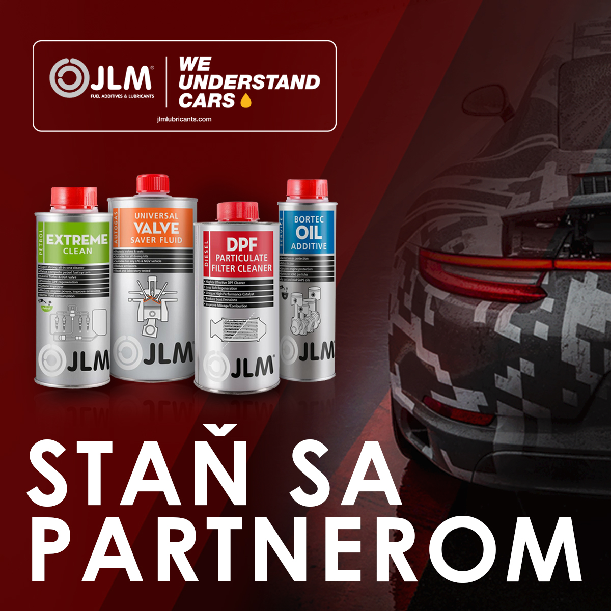Staň sa veľkoobchodným partnerom JLM