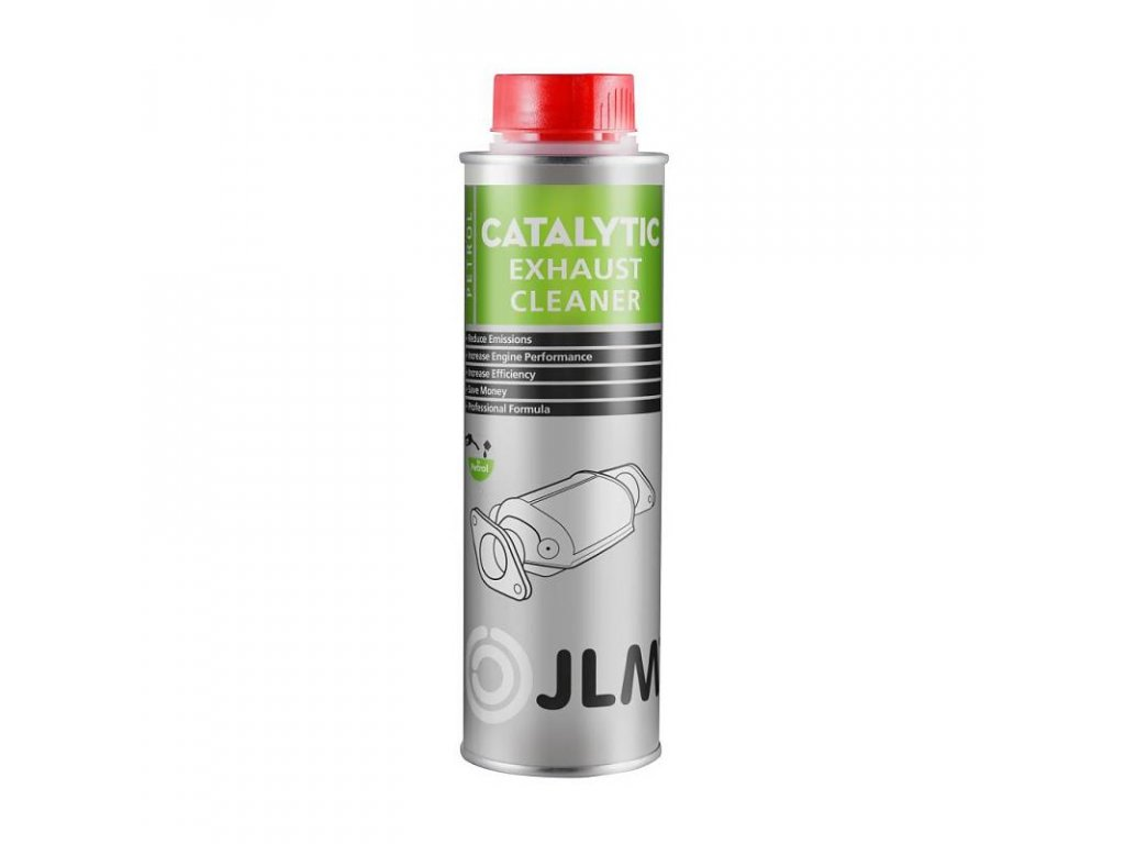 JLM Catalytic Exhaust Cleaner Petrol 250ml - čistič katalyzátoru