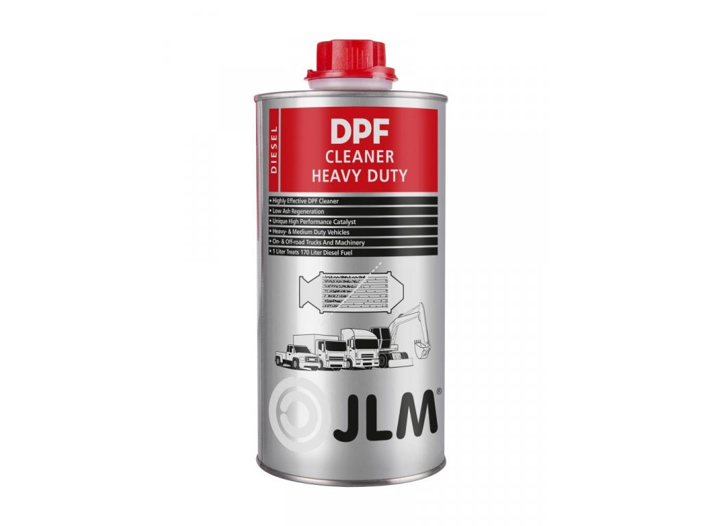 JLM DPF Cleaner Heavy Duty 1L - čistič DPF