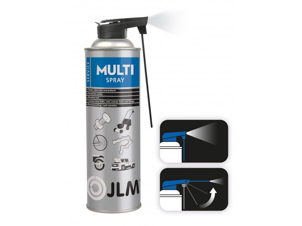 JLM multispray Smart Straw 400ml univerzalne mazivo