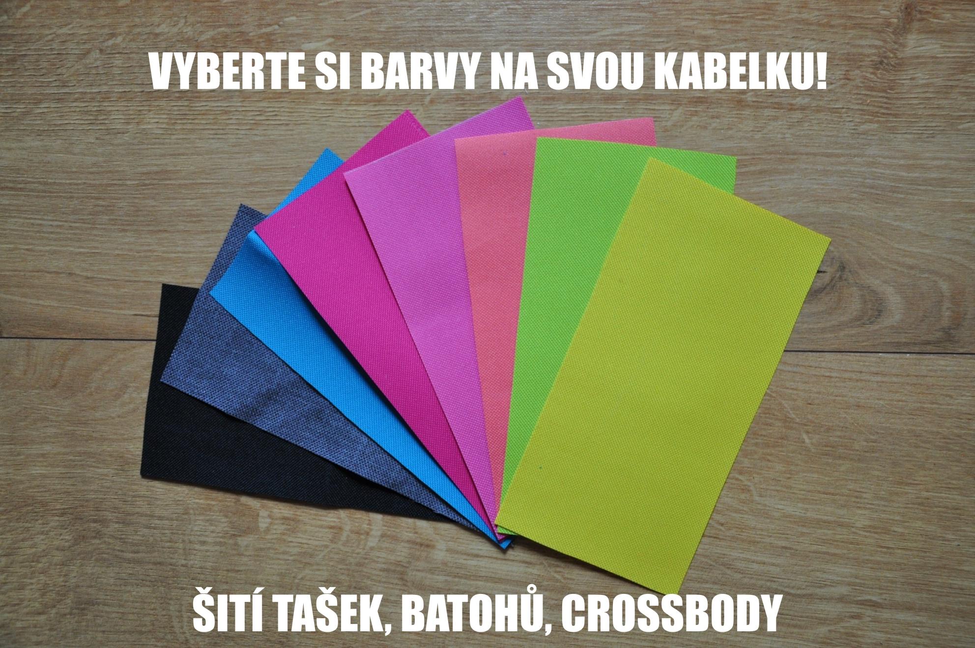 materiály na tašky